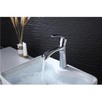 Custom Logo Deck Mounted Bathroom Vanity Faucets , Modern Bathroom Sink Faucets Manufactures