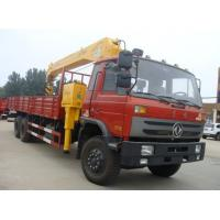 China Dongfeng 6*4 LHD/RHD 210hp diesel truck mounted crane for sale, factory sale best price 8-10tons cargo truck with crane on sale