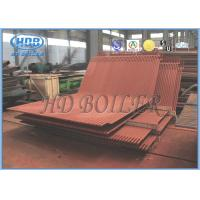 Studded Water Wall In Boiler , Water Cooling Wall ASME Standard Manufactures