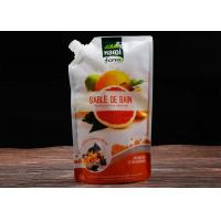 China Aluminum Foil Recyclable Liquid Pouch Bag , Milk Liquid Packaging Pouch Laminated Material on sale