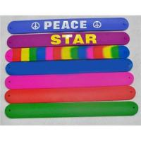 silicone slap band Manufactures