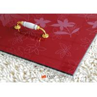 Quality White / Red / Black Embossed 3D MDF Board Interior Decorative Wall Panels for sale