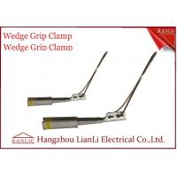 China Harden Aluminum Porcelain Wedge Grip Clamp Conduit Tools Stainless Solid Bail on sale