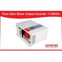 Long Back up Pure Sine Wave DC-AC Solar Power Inverters with Bypass Voltage 1-12KW Manufactures