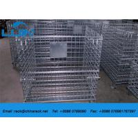AS4084 Steel Wire Mesh Cages Corrosion Protection Material Foldable Type Manufactures