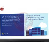 Full Version 2016 Windows Server Operating System Standard Retail Box Manufactures