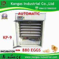 CE Approved Automatic Industrial Incubator for 880 Chicken Eggs (KP-9) Manufactures