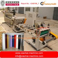 Double Layer Plastic Cup Making Machine PP PS Sheet Extruder Manufactures