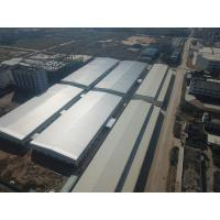 Q235 / Q345 Pre Engineering Structure Steel Warehouse Galvanizing Surface Treatment Manufactures
