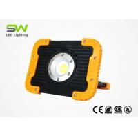 10 W Rechargeable Portable LED Flood Lights 1000 Lumen With USB Output Manufactures