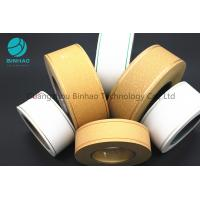 China Permeability Tipping Paper Cigarette Filter Rod Wrapping Soft Temper on sale
