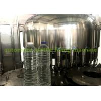 Automatic Beverage Filling Machine For Bottling Water / Mineral Water Production Line Manufactures