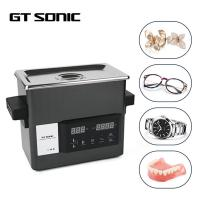 Mini Size Ultrasonic Denture Cleaner , High Effciency Desktop Ultrasonic Cleaner Manufactures