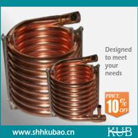 China copper tube aluminum fin condenser coil on sale
