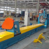 0.08-15 MM Slotted Screen Wrap Welded Wire Mesh Machine 15Kw Output Manufactures