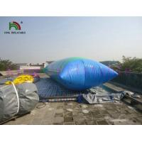 0.9mm PVC Tarpaulin Blow Up Water Fun Toy , Inflatable Water Blob For Water Park Manufactures