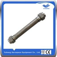 Female threads on both ends of stainless steel metal hose Manufactures