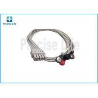 China Mindray 0010-30-42906 12 Lead ECG Cable , ECG Limb Wires 0.6m Snap on sale