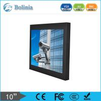 Small metal 10 CCTV LCD Monitor A grade LCD panel with Touchscreen Manufactures