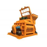 Stationary Horizontal Js1000 Concrete Mixer Machine Dry Mortar Equipment Manufactures