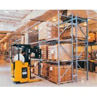 Corrosion Protection Automated Pallet Racking System / Metal Shelving System Powder Coating Surface