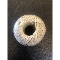 Green PP Split Film Twine Fibrillated Yarn Type / Polypropylene Raffia Manufactures