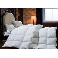 King Size Goose Feather Duck Down Quilt Duvet , Goose Feather And Down Quilt Manufactures