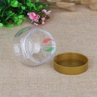 China PET Plastic Transparent Can 225ml Small Bottle with PP Screw Cap on sale