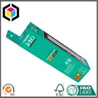 Matte Color Printing Packaging Paper Boxes for Lamp; Self Hanging Tab Paper Box Manufactures