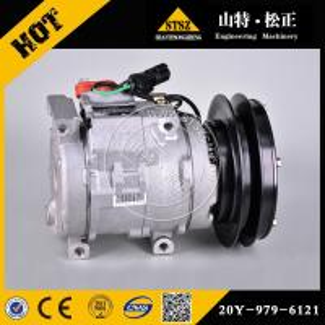 20Y-979-6121 20Y-979-6120 compressor assy for PC350LC-8 komatsu excavator parts Manufactures