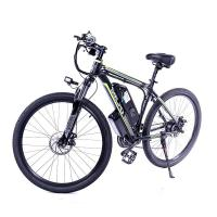 Stable 48V 350W Electric Mountain Bicycles Mtb Double Shock Absorption Manufactures