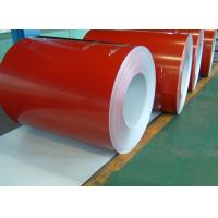 white, blue or customized JIS, CGCC Soft Prepainted Color Steel Coils / Coil (PPGI / PPGL) Manufactures