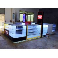 Shopping Mall Cell Phone Display Case / Mobile Phone Kiosk Eco - Friendly Material Manufactures