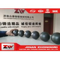 Cast iron and forged Grinding Steel balls , Dia 20-140mm grinding media ball Manufactures