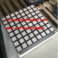 China Hot sale good quality wear resistant ceramic rubber composite liner on sale
