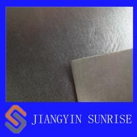 Women Shoes 1.5 mm Embossed Leather Upholstery Fabric With PU Coating Manufactures