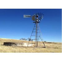 China Fiver Years Warranty Nonpolluting Water Pumping Windmills Start Wind Speed 25-35 Mph on sale