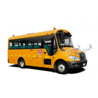 Quality 6 - 8 Meters School Bus Safety LHD 30 / 35 Seats Security Strengthen Hard Skeleton for sale