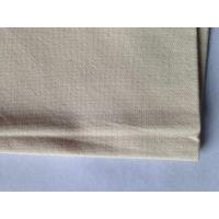 GOTS Natural Fabric Organic Cotton Texiles for Shoes Dresses10 / 2Ne * 10Ne Manufactures