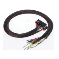 Fire Retardant Expandable Cable Sleeve Black Color For Wire Harness Protection Manufactures