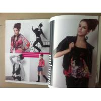 China Full Color Female Fashion Magazine Printing Services On Gloss Paper on sale