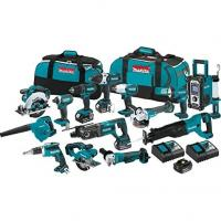 New Set Makita 18V LXT 15 Piece Kit Power Tools,Makita 18 Volt LXT Complete 15 Pieces Combo Kits Manufactures