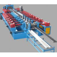 China Cr12 Mould Steel Framing Cold CZ Purlin Roll Forming Machine With Post Cutting on sale