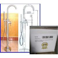 Contemporary Freestanding Bath Filler with Hand Sprayer Manufactures