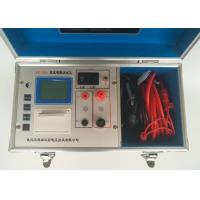 Single Phase 10A Current Transformer Testing Equipments DC Resistance Tester Manufactures