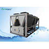 Classical R134A Gas Air Cooled Screw Chiller Commercial ISO9001 Certificates Manufactures