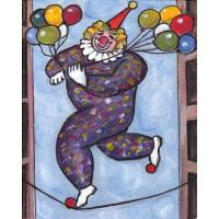 clown oil painting on canvas Manufactures