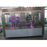Drinking Water 5L Bottle Filling Plant 18 Heads PLC Control 2500BPH Capacity Manufactures
