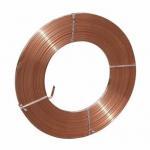 Decoration Thin Copper Brass Strip , Decorative Brass Metal Strip Grounding Manufactures