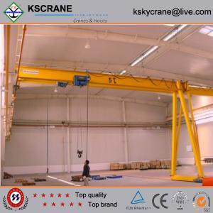 China High Working Efficiency Single Girder Semi-gantry Crane on sale